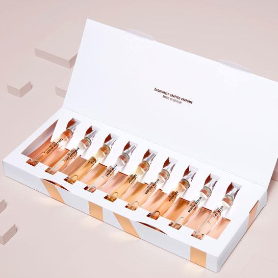 Gentlemen-Collection of 9 9 x 7,5 ml  / 145 €